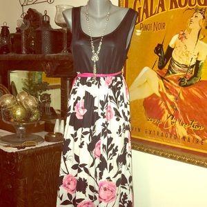CowCow maxi dress